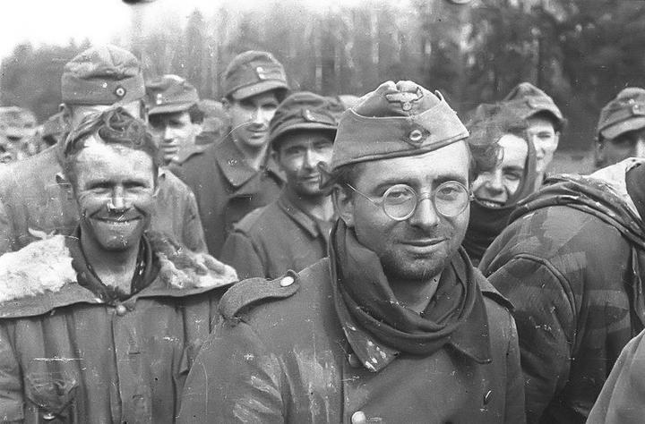 Жизнь пленных немцев в СССР
