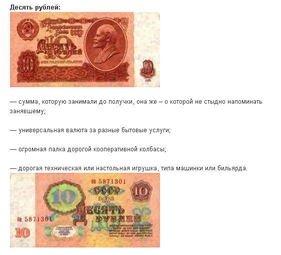 Что сколько стоило в СССР