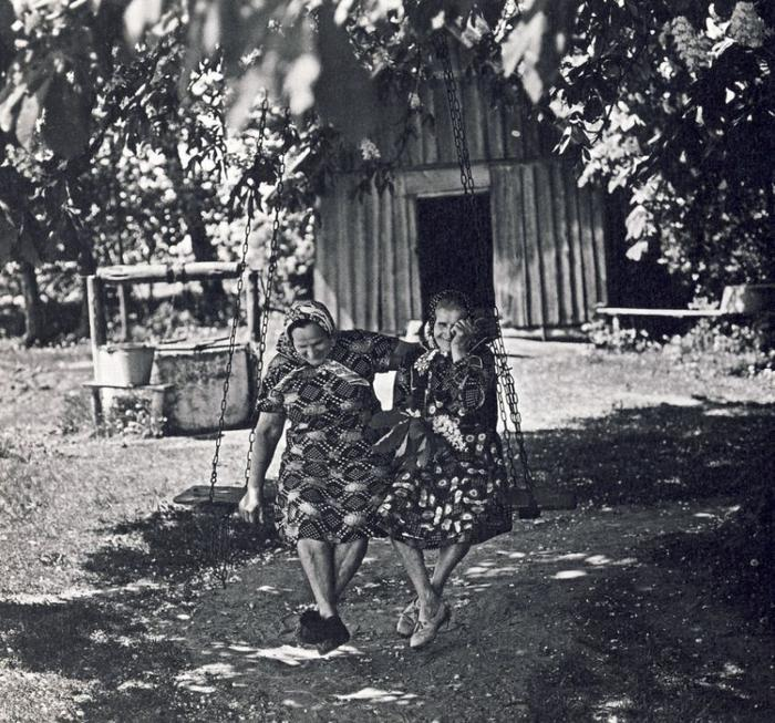 Частное черно белое фото